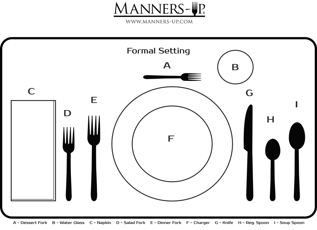 Manners Up Placemat